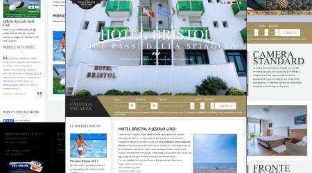Sito Web Hotel Bristol Jesolo