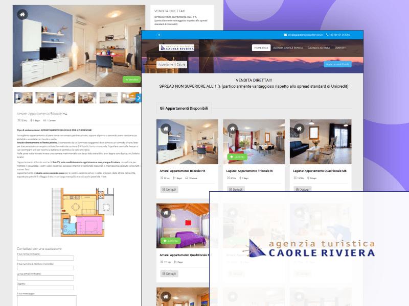 Portfolio dei progetti e delle realizzazioni for Appartamenti caorle